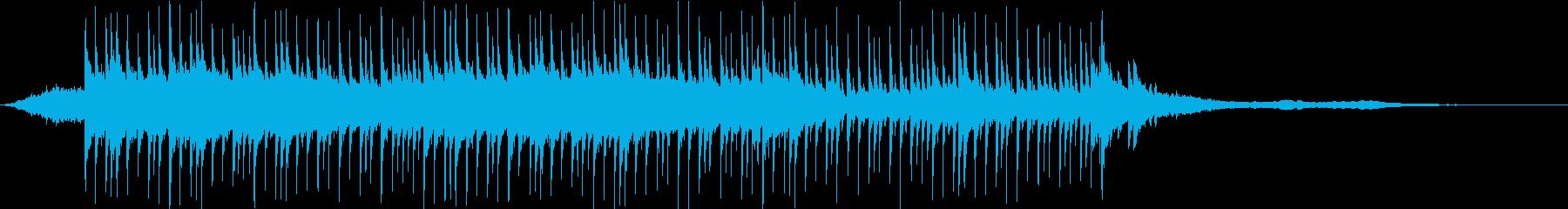 ベルが弾けるポジティブなキラメキポップスの再生済みの波形