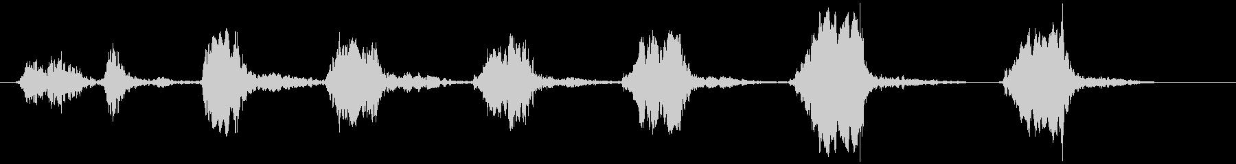 鳥のさえずり (チュ、ヒヒヒヒヒ)の未再生の波形