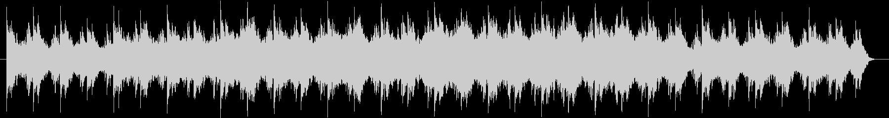 ピアノとバイオリンのエレクトロニカの未再生の波形