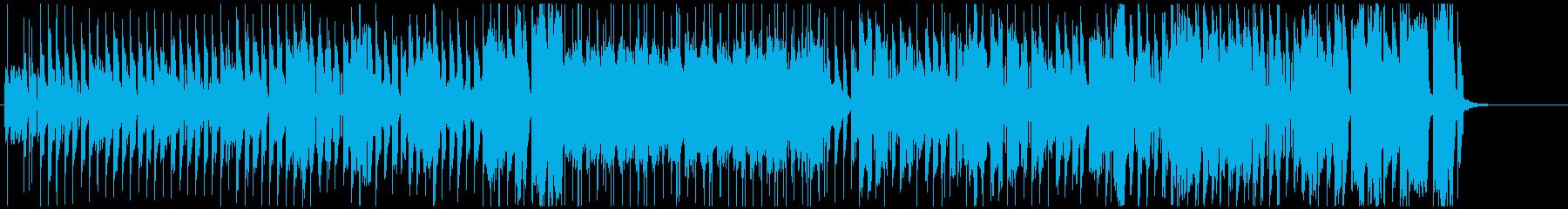 明るいほのぼのゆったりな日常系BGMの再生済みの波形