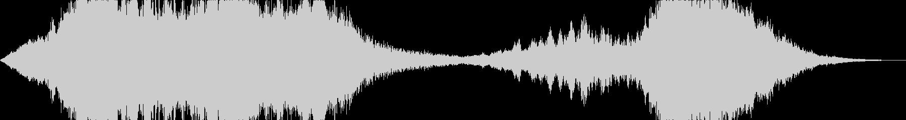 映画 ホラー 恐怖 お化け屋敷3の未再生の波形