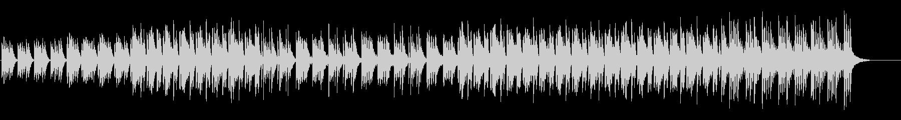ふんわりゆったりなピアノ+シンセBGMの未再生の波形