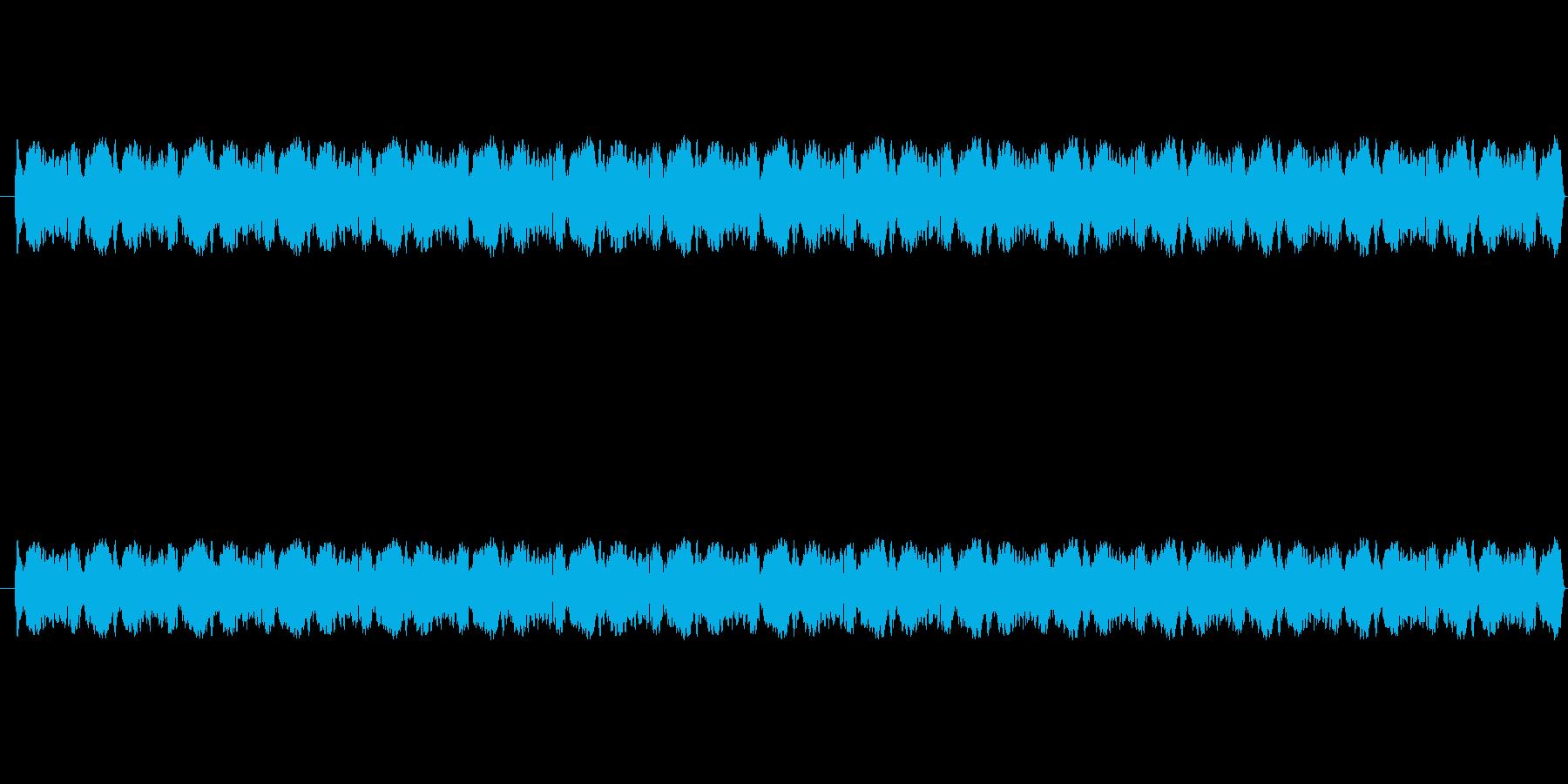 ウィンウィン(パトカーのサイレン音)の再生済みの波形