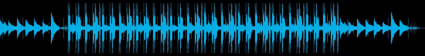 静かで優しいチル・ヒップホップの再生済みの波形