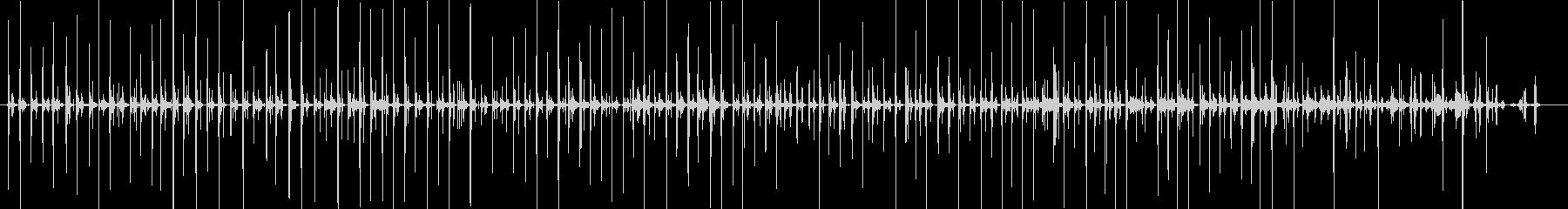 バイノーラル足音歩く2サンダル_右の未再生の波形