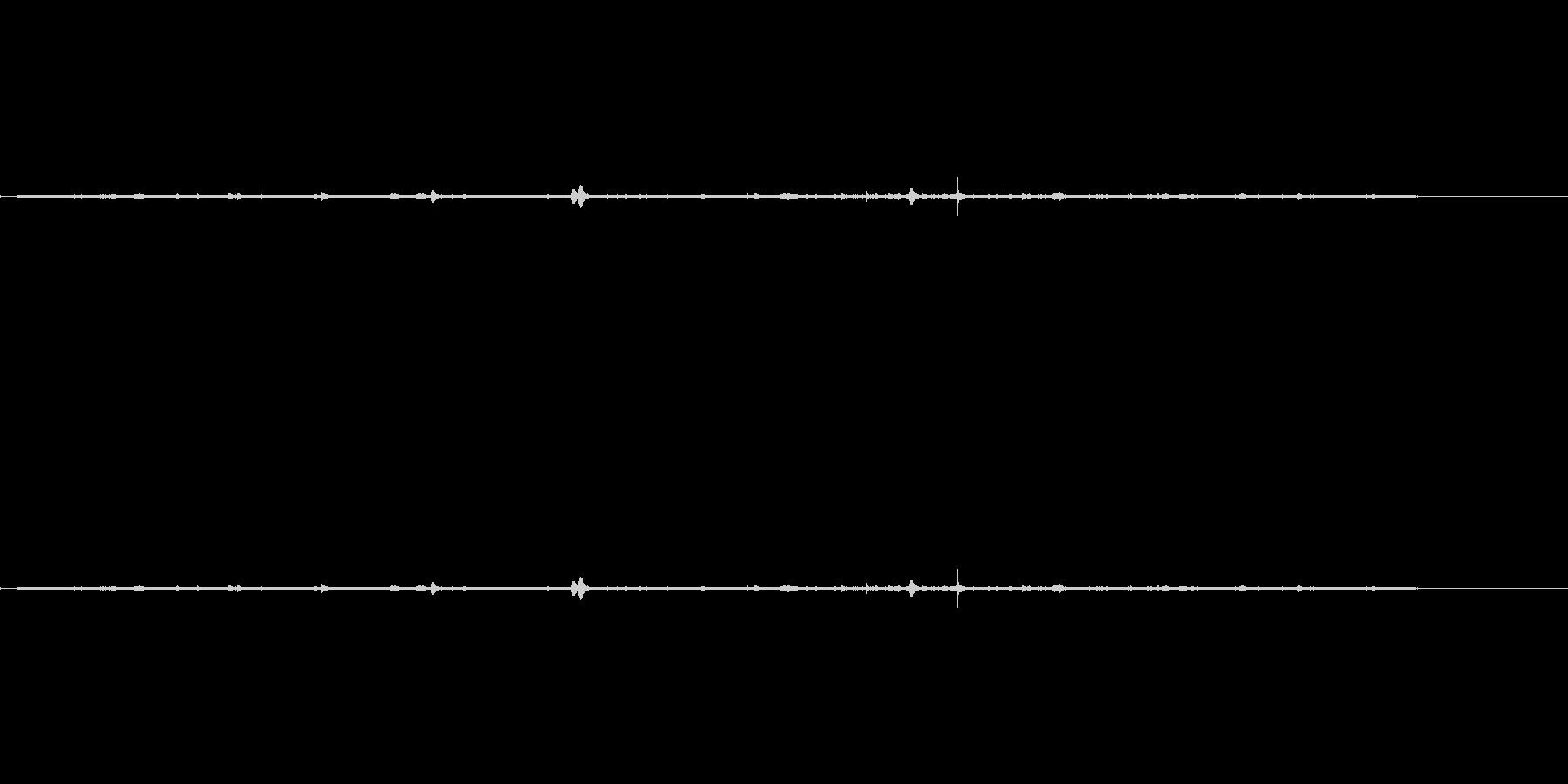 カフェテリアバートーク(ビジー)、全般の未再生の波形