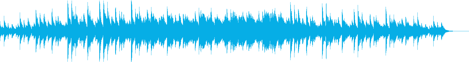 弦楽器を使ったインスピレーションあふれるの再生済みの波形
