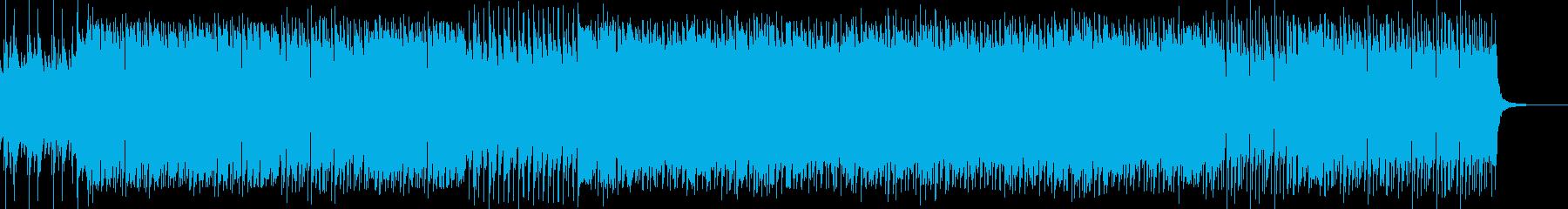 裏の世界をイメージしたプログレサウンドの再生済みの波形