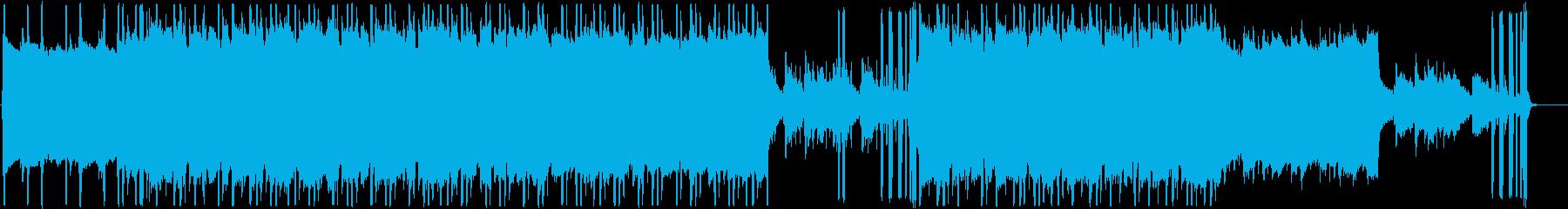 オシャレ、しっとり、ゲーム音なLoFiの再生済みの波形