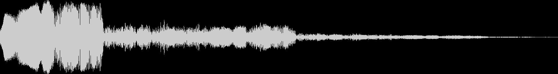 アナログFX 4の未再生の波形