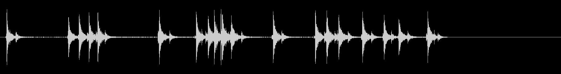ピンボールマシン;フリッパーの動きの未再生の波形