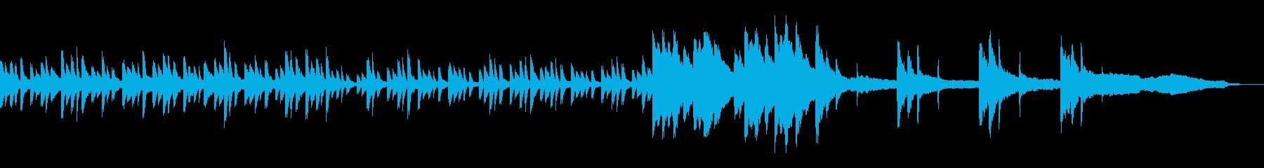 神秘的・癒やし系生ピアノ・リラックスの再生済みの波形