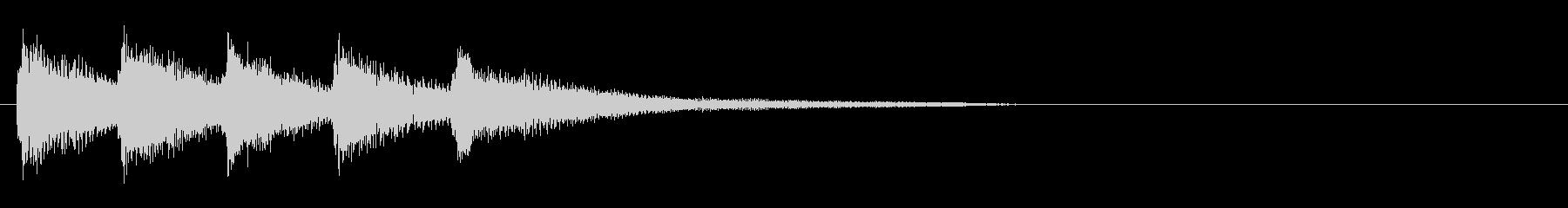 ベル6 16bit44.1kHzVerの未再生の波形