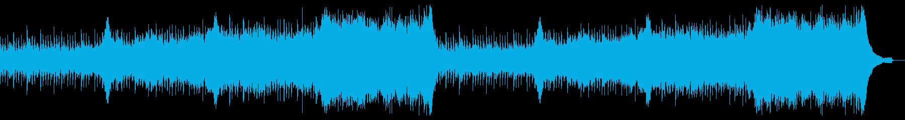 企業VP映像、105オーケストラ、爽快aの再生済みの波形
