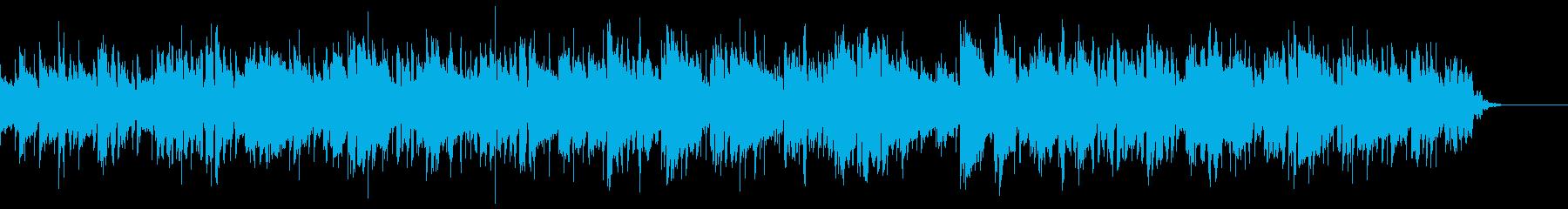 エレクトリックピアノのイージーリスニングの再生済みの波形