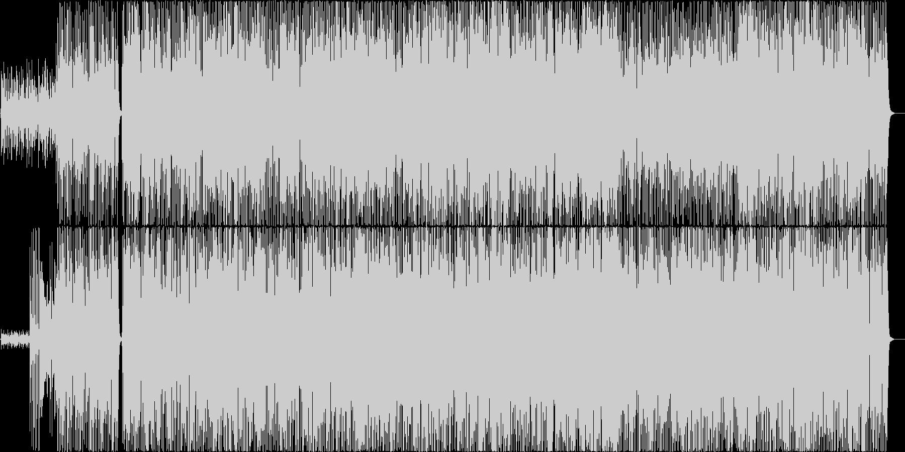 ストーンズ的なロックンロールの未再生の波形