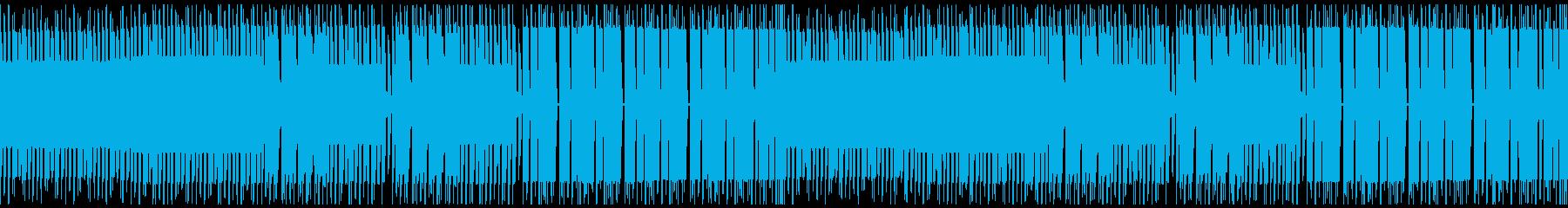 FC風ループ 赤い意思の再生済みの波形