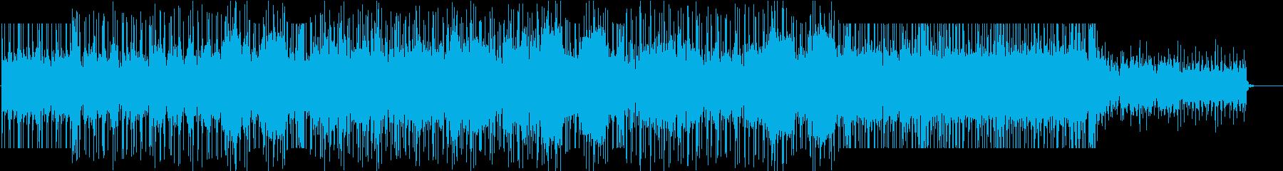 流れるような軽いライフスタイルタイ...の再生済みの波形