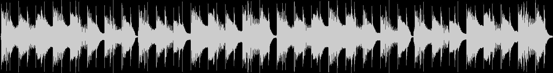 カチカチ音のZap系ディスコループの未再生の波形