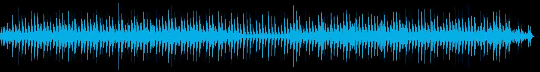 落ち着いた美しい音色のヒーリングBGMの再生済みの波形