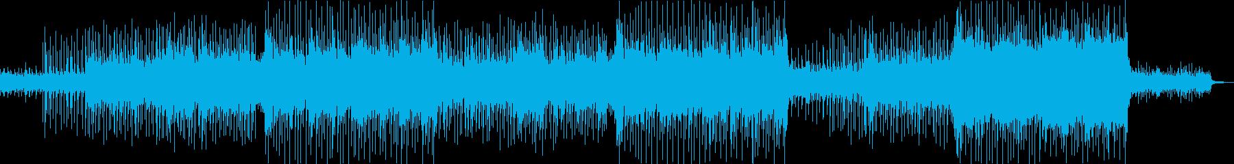 元気で活発なアコースティックギターポップの再生済みの波形