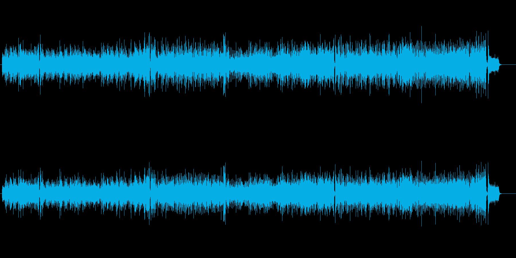 ピアノとオルガンがお洒落な4ビートの再生済みの波形
