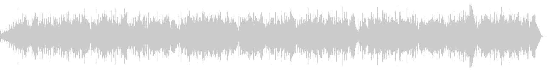 G線上のアリア(ストリングス)フルサイズの未再生の波形