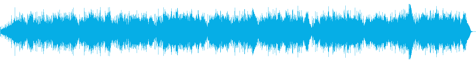 G線上のアリア(ストリングス)フルサイズの再生済みの波形