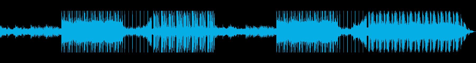 不気味なトラップミュージックの再生済みの波形