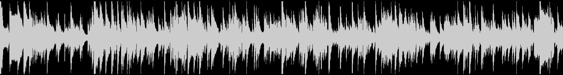 優雅なサックスのジャズバラード※ループ版の未再生の波形