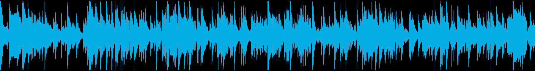 優雅なサックスのジャズバラード※ループ版の再生済みの波形