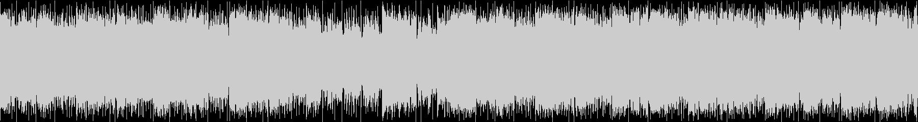 クールなDrum'NBassループの未再生の波形