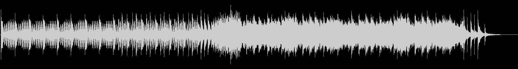 ほのぼの日常なフルートサウンドの未再生の波形