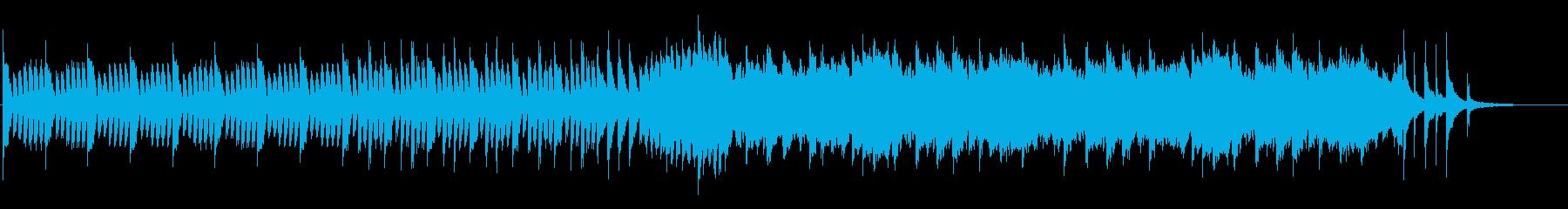 ほのぼの日常なフルートサウンドの再生済みの波形