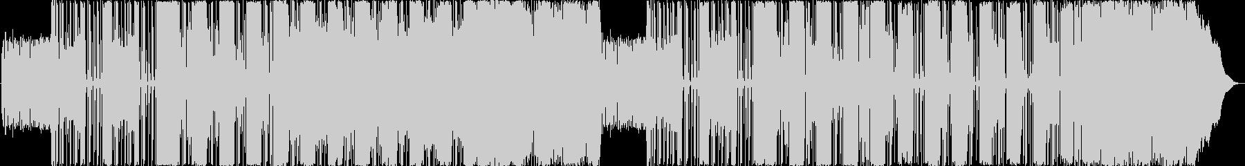 アヴァンギャルドなサイケデリックサウンドの未再生の波形
