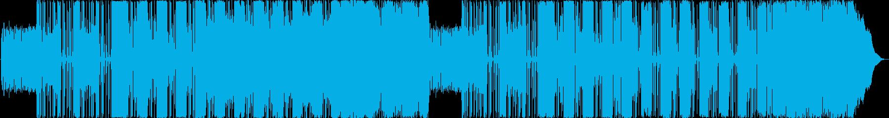 アヴァンギャルドなサイケデリックサウンドの再生済みの波形