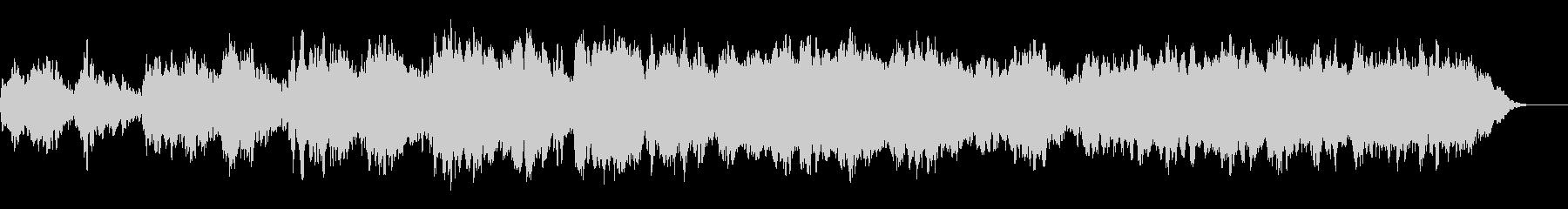 女声多重録音の宗教音楽(アカペラ)の未再生の波形