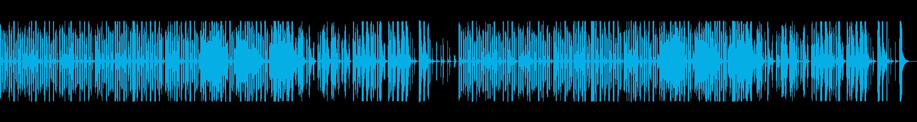 リコーダー、ゆるい、ほのぼの、生配信の再生済みの波形