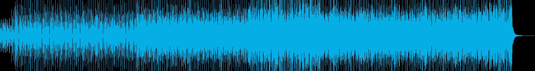 真夏の海水浴をイメージした楽曲ですの再生済みの波形