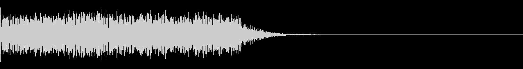 スパーク音-02の未再生の波形