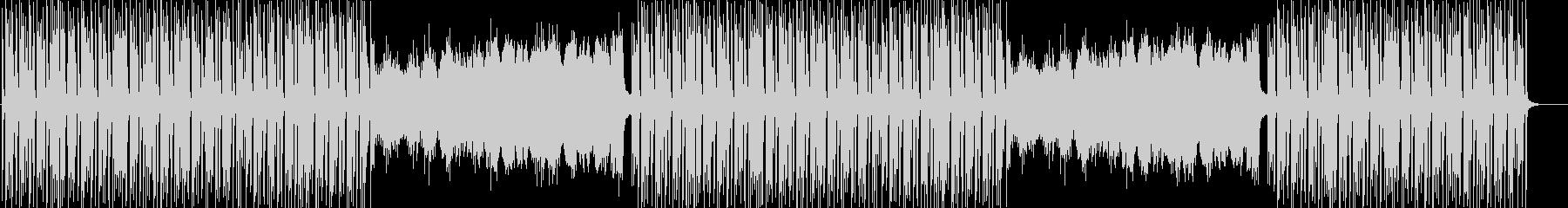 ほのぼのかわいい日常系BGMの未再生の波形