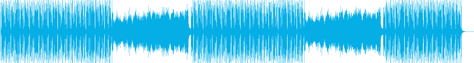 ほのぼのかわいい日常系BGMの再生済みの波形
