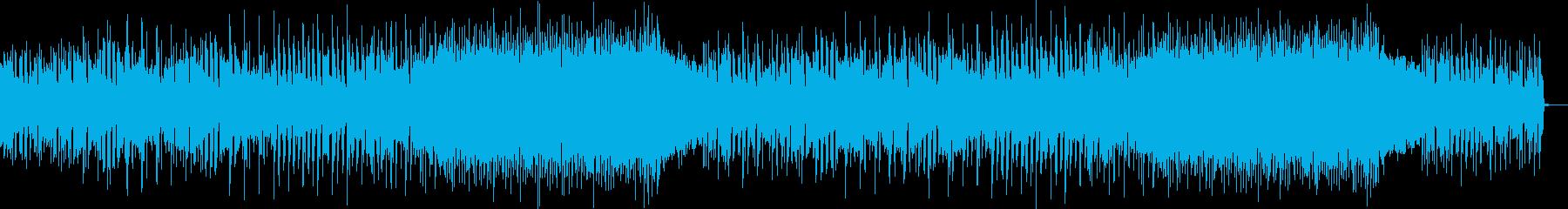 ほのぼのとしたメキシカンソングの再生済みの波形