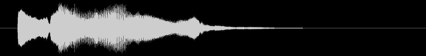 8ビット風システム音-03-3_dryの未再生の波形