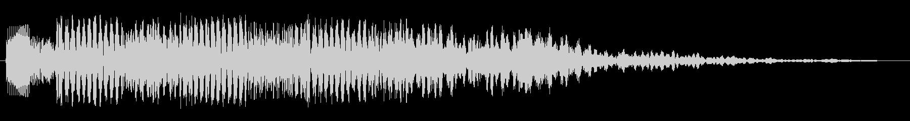 ピローリローポロン ピーピローポロンの未再生の波形