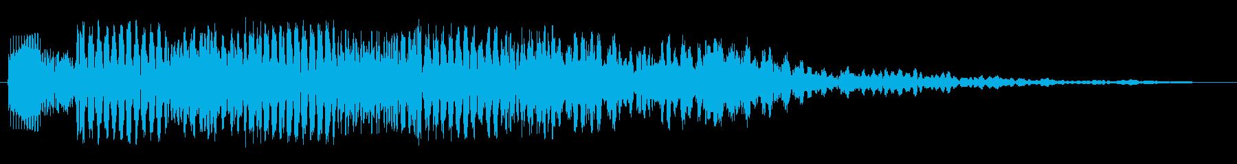 ピローリローポロン ピーピローポロンの再生済みの波形
