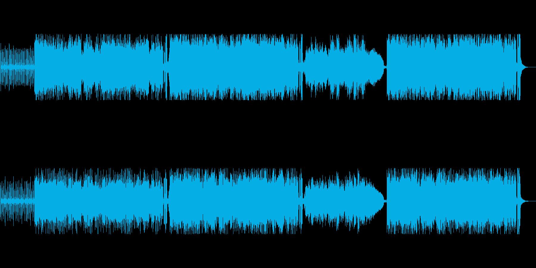 三拍子の短調・オーケストラの再生済みの波形