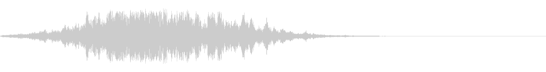 ホラー系導入音_その18の未再生の波形