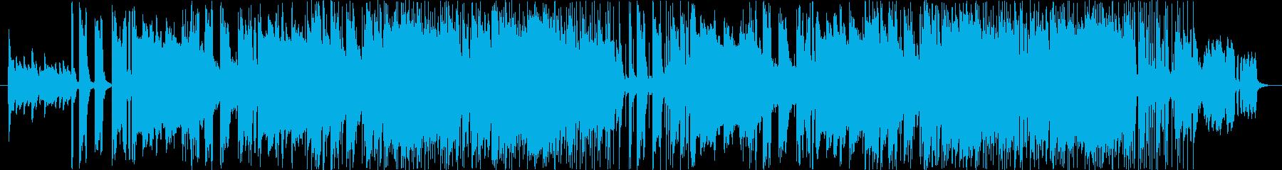 爽やかなブラスセクションの再生済みの波形