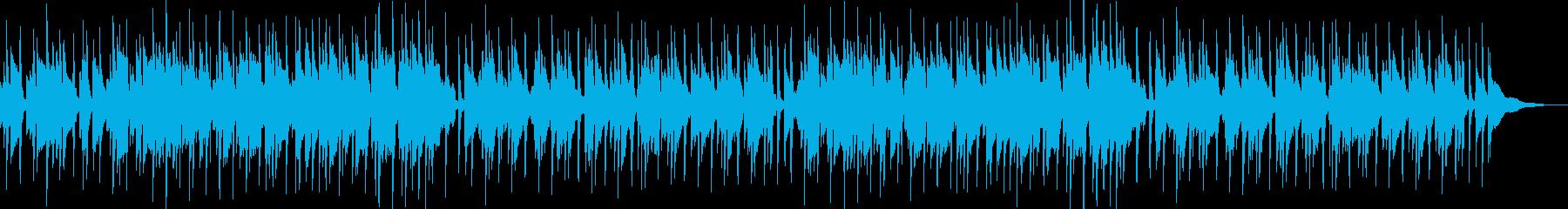 アコギのノスタルジックな優しいBGMの再生済みの波形